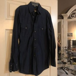 Wrangler Troubadour Collection Button Down